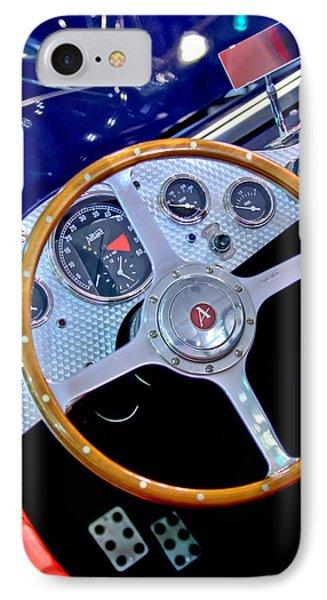 2010 Allard J2x Mk II Commemorative Edition Steering Wheel Phone Case by Jill Reger