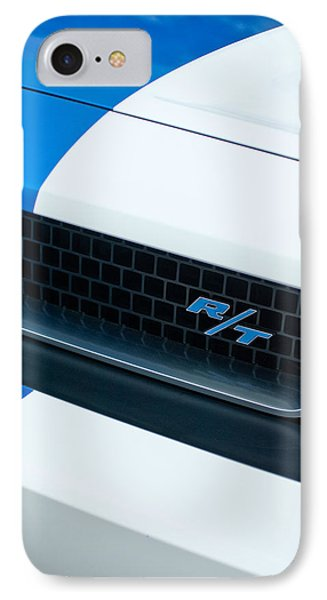 2011 Dodge Challenger Rt Grille Emblem Phone Case by Jill Reger