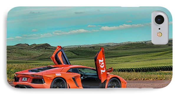 2012 Lamborghini Aventador IPhone Case