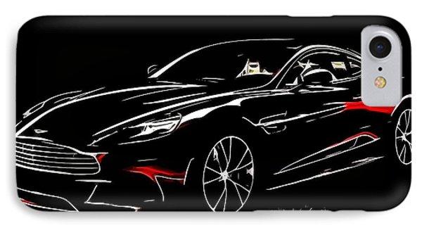 2013 Aston Martin Vanquish IPhone Case