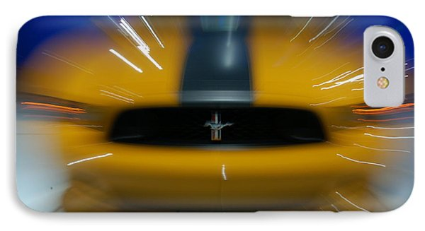 2013 Ford Mustang IPhone Case by Randy J Heath