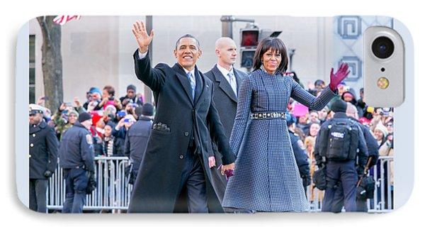 2013 Inaugural Parade Phone Case by Ava Reaves