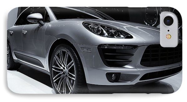 2014 Porsche Macan IPhone Case by Rachel Cohen