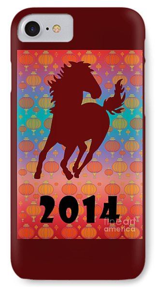 2014 - Year Of The Horse IPhone Case