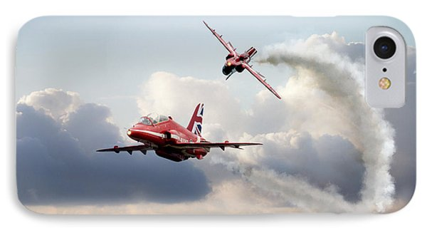2015 Red Arrows Pair IPhone Case by J Biggadike