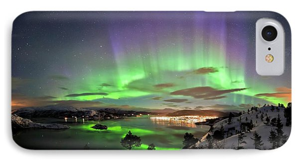 Aurora Borealis IPhone Case by Tommy Eliassen