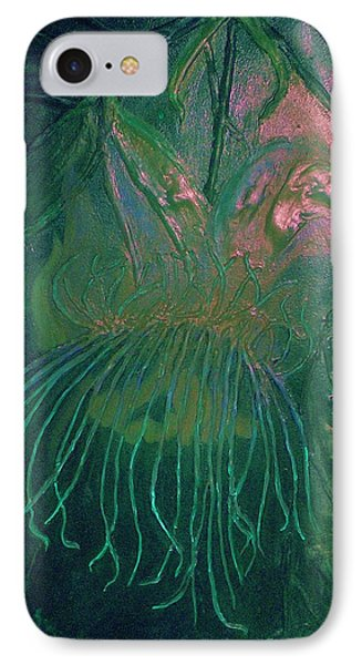 IPhone Case featuring the painting Cosmic Light Series by Len Sodenkamp