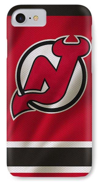 New Jersey Devils IPhone Case by Joe Hamilton