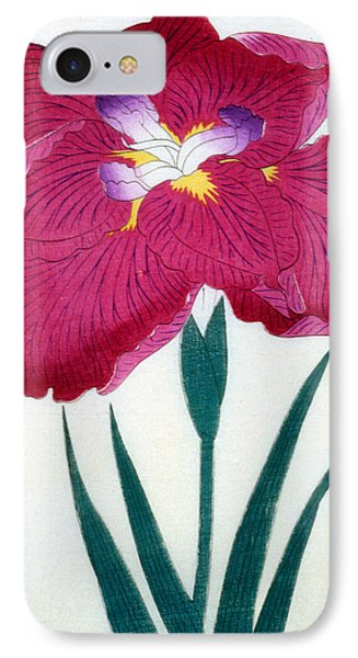 Japanese Flower Phone Case by Japanese School