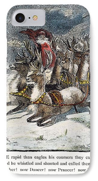 Night Before Christmas Phone Case by Granger