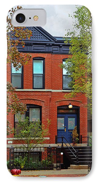 22 W Eugenie St Old Town Chicago Phone Case by Christine Till