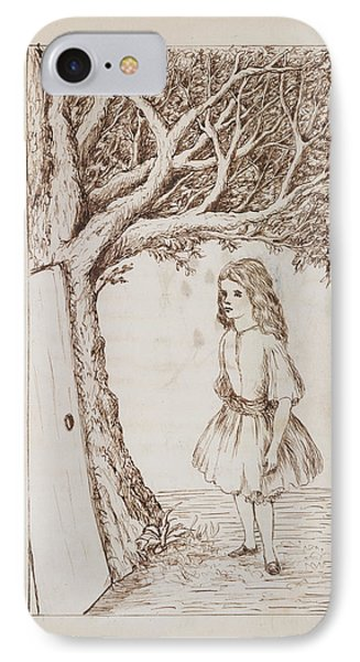 Alice's Adventures In Wonderland IPhone Case by British Library