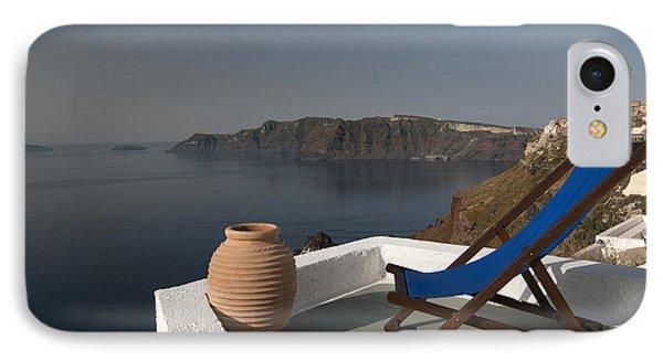 Santorini Phone Case by Borislav Stefanov