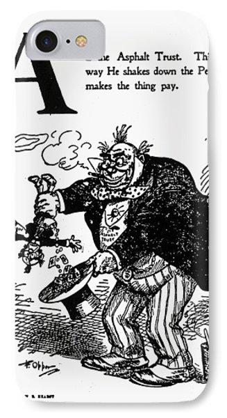 Anti-trust Cartoon, 1902 IPhone Case