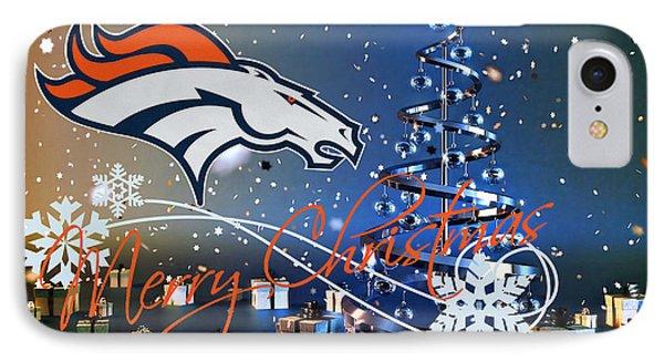 Denver Broncos IPhone Case by Joe Hamilton