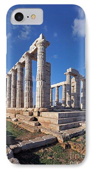 Poseidon Temple Phone Case by George Atsametakis