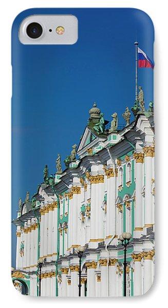 Russia, Saint Petersburg, Center IPhone Case by Walter Bibikow
