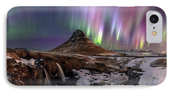 Aurora Borealis IPhone Case by Babak Tafreshi