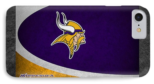 Minnesota Vikings IPhone Case by Joe Hamilton