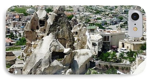 Nevsehir Landscape IPhone Case by Ted Pollard