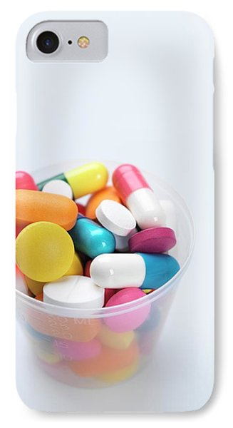 Pills IPhone Case by Tek Image