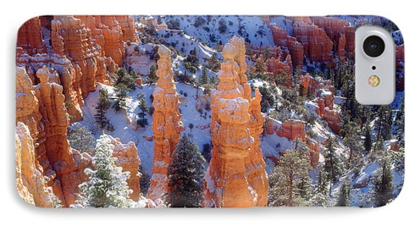 Usa, Utah, Bryce Canyon National Park IPhone Case by Jaynes Gallery