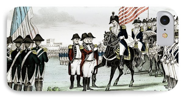 Yorktown Surrender, 1781 IPhone Case by Granger