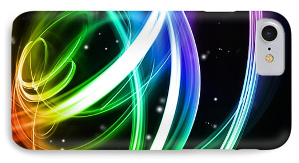 Abstract Background Phone Case by Les Cunliffe