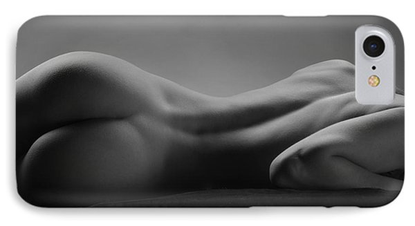 2533 Avonelle Bw Nude Back  IPhone Case