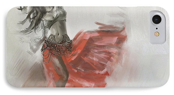 Belly Dancer 4 IPhone Case by Corporate Art Task Force