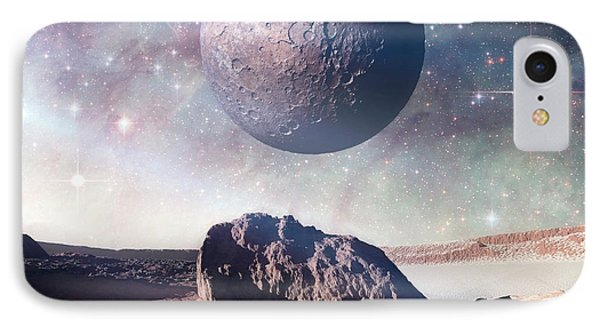 Alien Planet IPhone Case by Detlev Van Ravenswaay