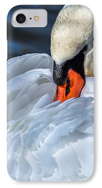 IPhone Case featuring the photograph Mute Swan by Brian Stevens