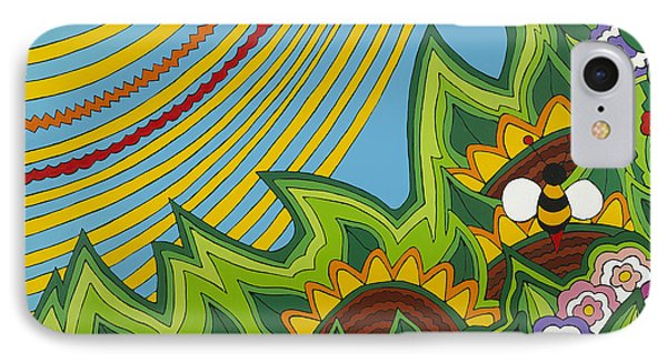Sunflowers IPhone Case by Rojax Art