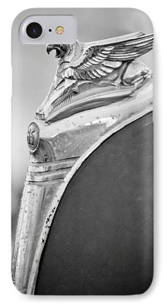 1932 Essex Griffin Hood Ornament IPhone Case by Jill Reger