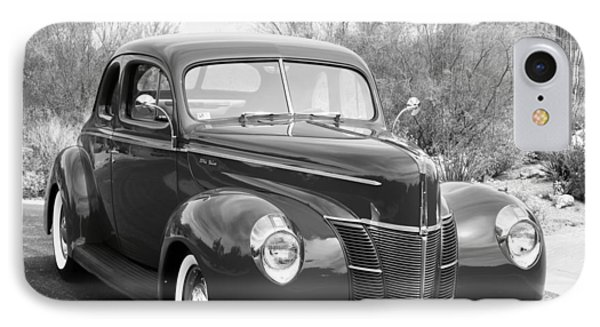 1940 Ford Deluxe Coupe IPhone Case by Jill Reger
