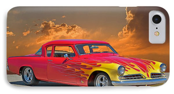1954 Studebaker Custom Phone Case by Dave Koontz