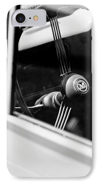 1960 Morris Minor Panel Delivery Truck Steering Wheel Emblem IPhone Case
