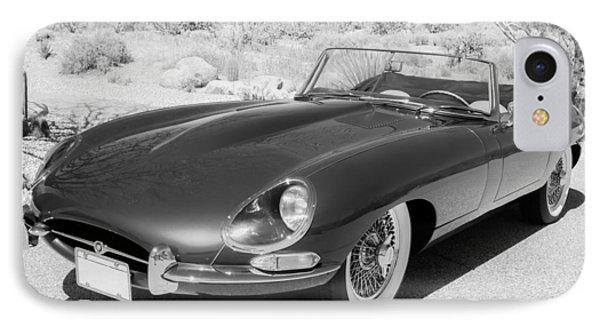 1963 Jaguar Xke Roadster IPhone Case by Jill Reger