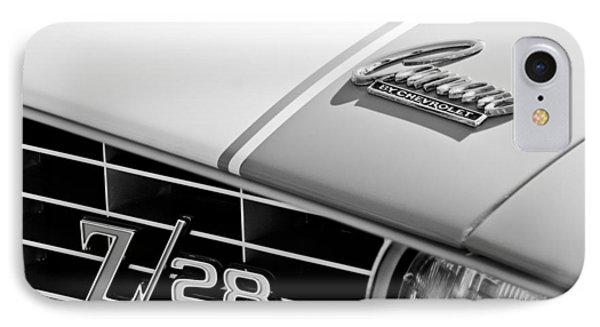 1969 Chevrolet Camaro Z-28 Emblem Phone Case by Jill Reger
