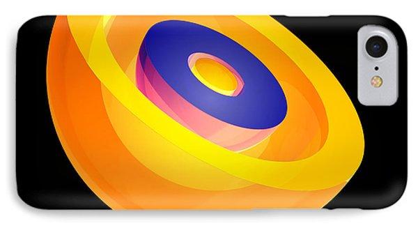 3s Electron Orbital IPhone Case by Laguna Design