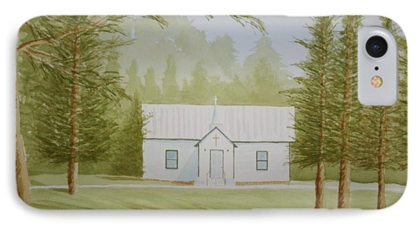 A North Carolina Church IPhone Case by Stacy C Bottoms