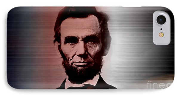 Abraham Lincoln IPhone Case by Marvin Blaine