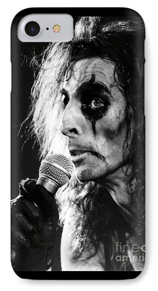 IPhone Case featuring the photograph Alice Cooper 1979 by Chris Walter