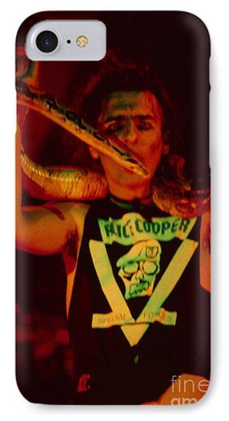 Alice Cooper At The Concord Pavillion IPhone Case