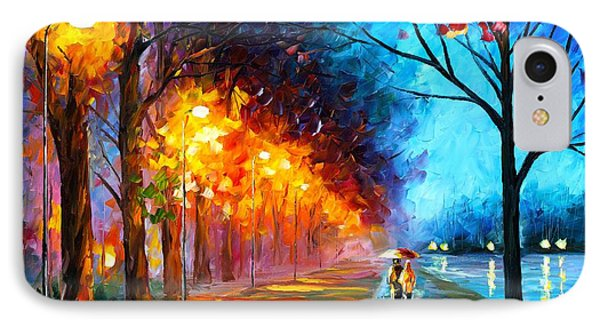 Alley By The Lake IPhone Case