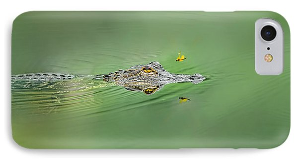 Alligator IPhone Case by Peter Lakomy