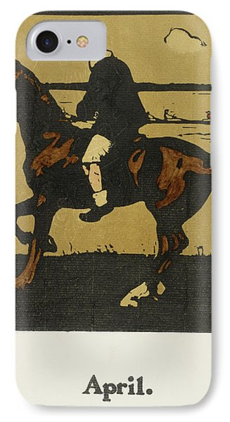 Almanac Of Sports For 1897 IPhone Case