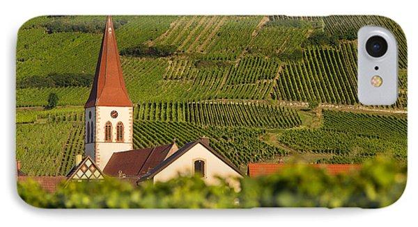 Alsace Church Phone Case by Brian Jannsen