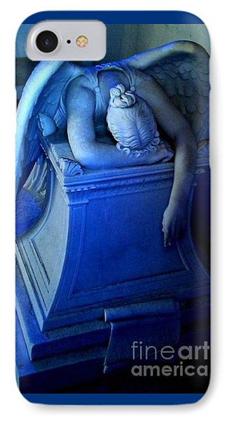 IPhone Case featuring the photograph Angelic Sorrow by Michael Hoard