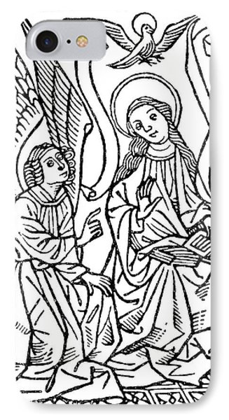Annunciation IPhone Case by Granger